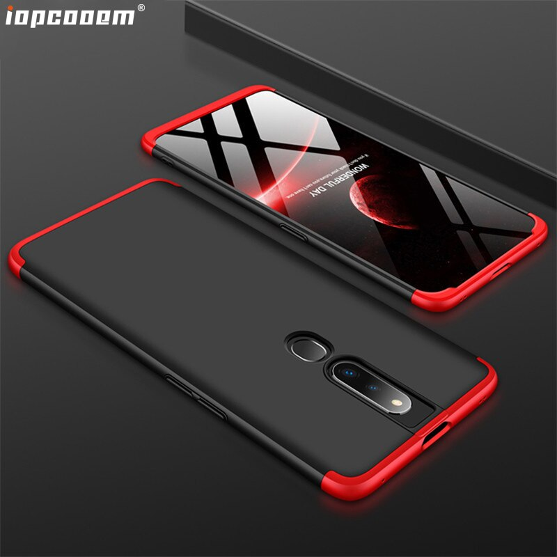 Para OPPO F11 Pro caso personalidad gota costura protección + Ultra delgada cubierta del teléfono Fors OPPO F11 Pro coque
