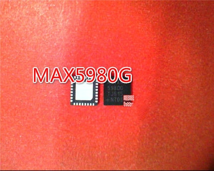 5PCS MAX5980GTJ 5980G MAX5980G 5980GTJ QFN
