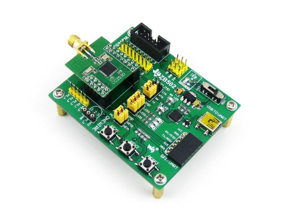 CC2530 Eval Kit ZB502 Core2530 CC2530F256 Zigbee Беспроводная плата для разработки