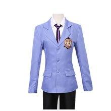 Cosplay japonais Anime Ouran lycée hôte Club école garçon costume daffaires Cos vêtements