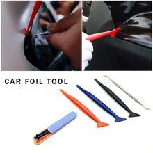 4 Pcs Car Foil Tool Scraper For More Convenient And Efficient To Change The Color Film Car Accessori