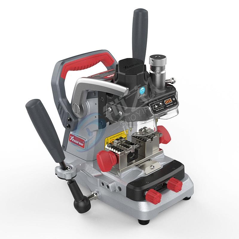 Máquina de corte de llave de coche Xhorse VVDI Condor XP007 plana, máquina clave manual interna Vertical MFP