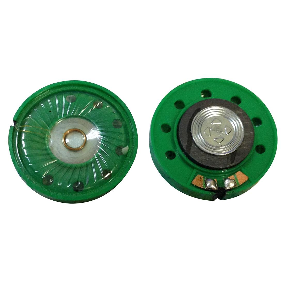 36mm Diameter Aluminum Shell Internal Magnet Speaker 16 Ohm 0.25W 2Pcs