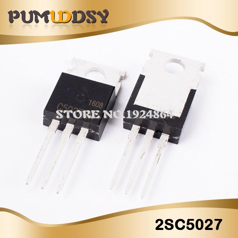 10 PIÈCES 2SC5027 TO220 C5027 À-220 Transistor IC