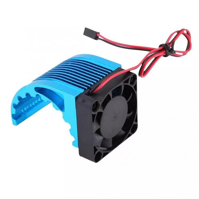 RC CNC HSP 42mm Alum Heat Sink DC5V Fan Cooling   For Brushless Motor 42mm  Leopard Castle 4274 1515 812 T8 4268 4272 enlarge