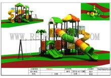 Exporté vers leurope en acier galvanisé Anti-UV parc enfants aire de jeux HZ-6426A