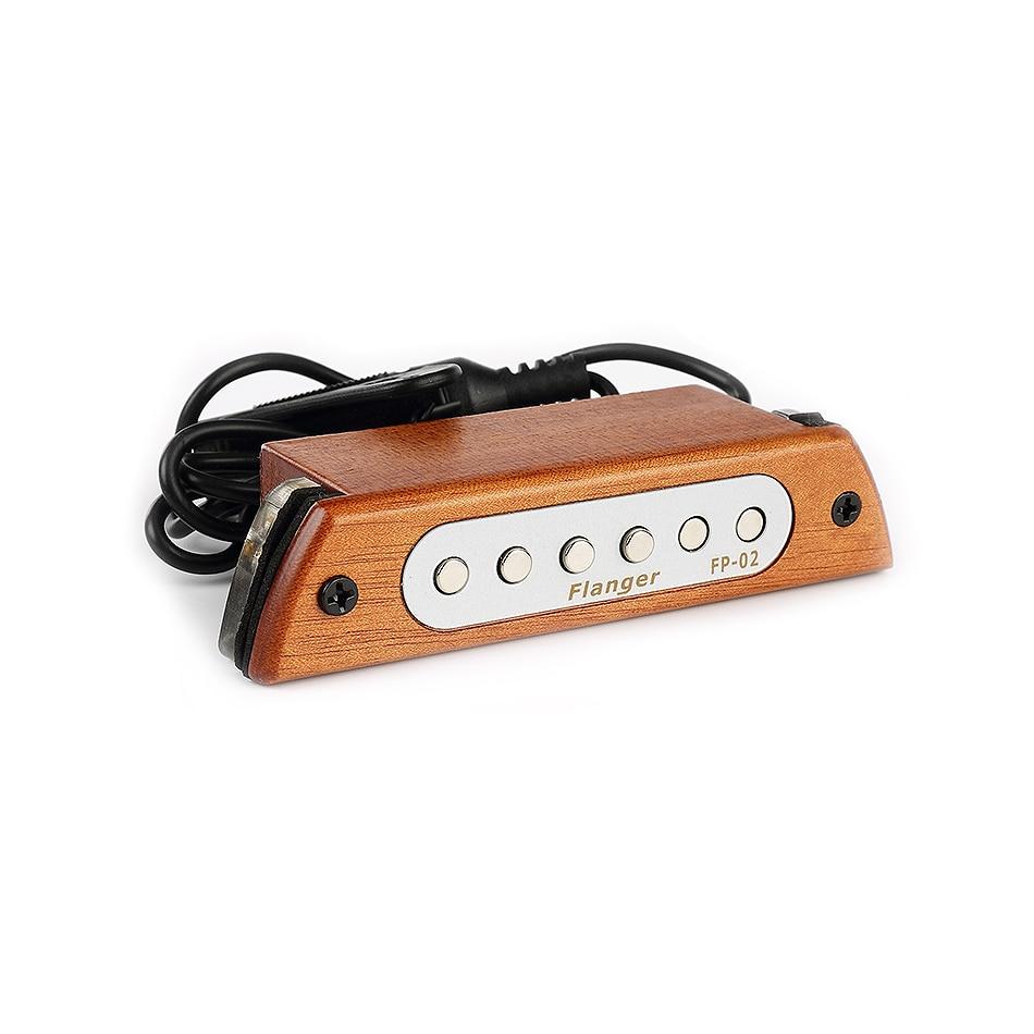 "Flanger FP-02 Wood Acoustic Guitar Sound Hole Pickup Magnetic Pickup For 39""/40""/41""/42"" Acoustic Guitar Accessories"