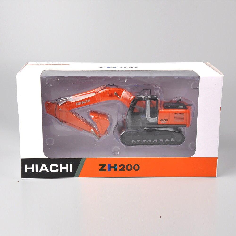 DiecastHiachi 1/50 escala Zaxis ZH200 excavadora Die-Cast modelo pistas de vehículos juguetes camión vehículos modelo Diecast