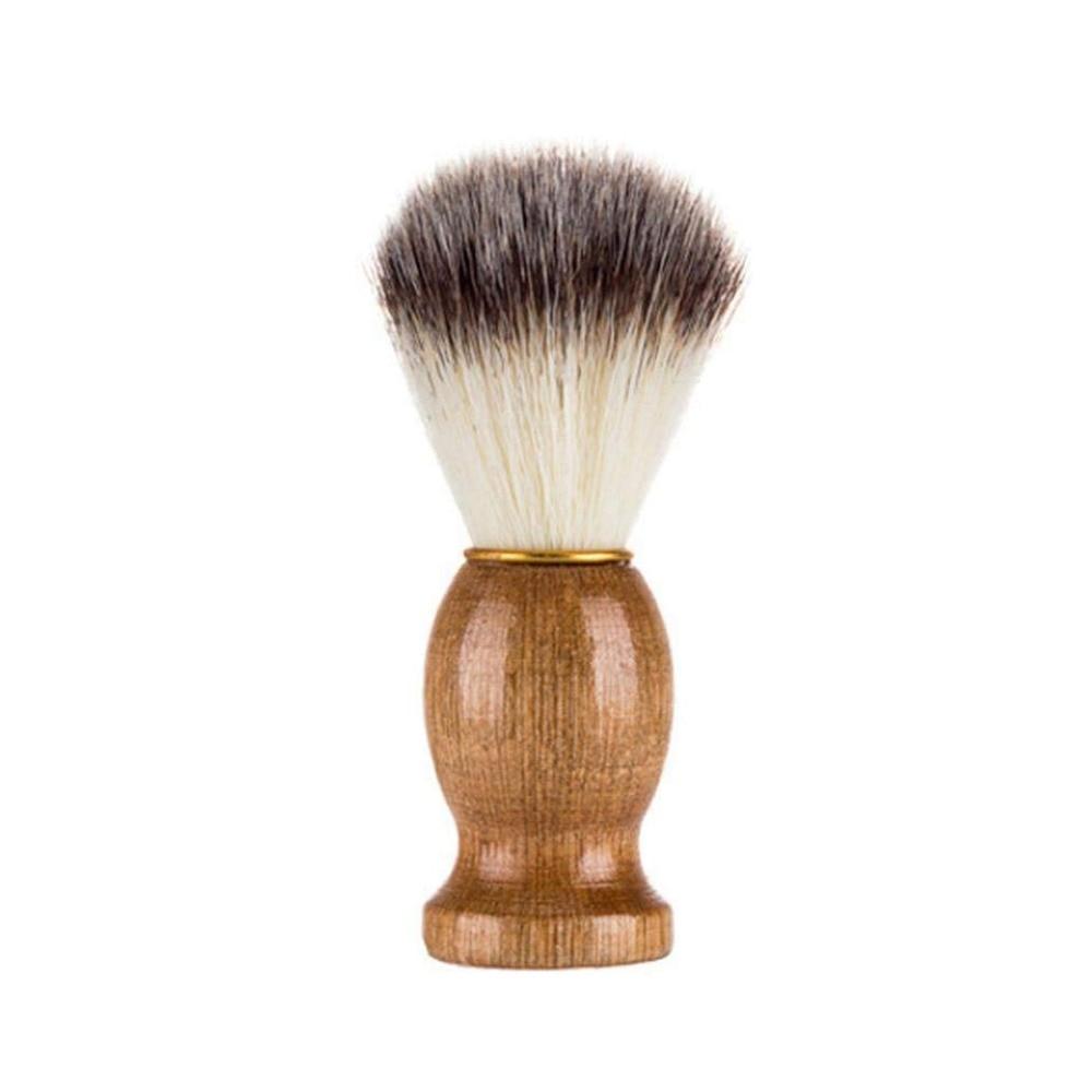 Shaving Brushes new Nylon and Badger hair Shave Wood Handle Men Solid wood Orginal Wood Shaving Brush Barber Tools