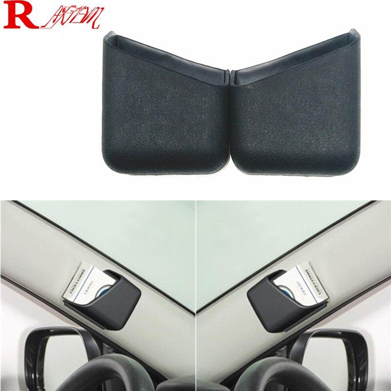 Estilo do carro multi-purpose caixa de armazenamento do carro óculos caixa para peugeot 206 207 208 301 307 308 407 2008 3008 4008