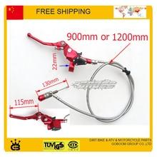 Cilindro maestro de nivel de embrague hidráulico Dirt Pit Monkey Bike rojo zongshen loncin lifan YX engrasado piezas de motor