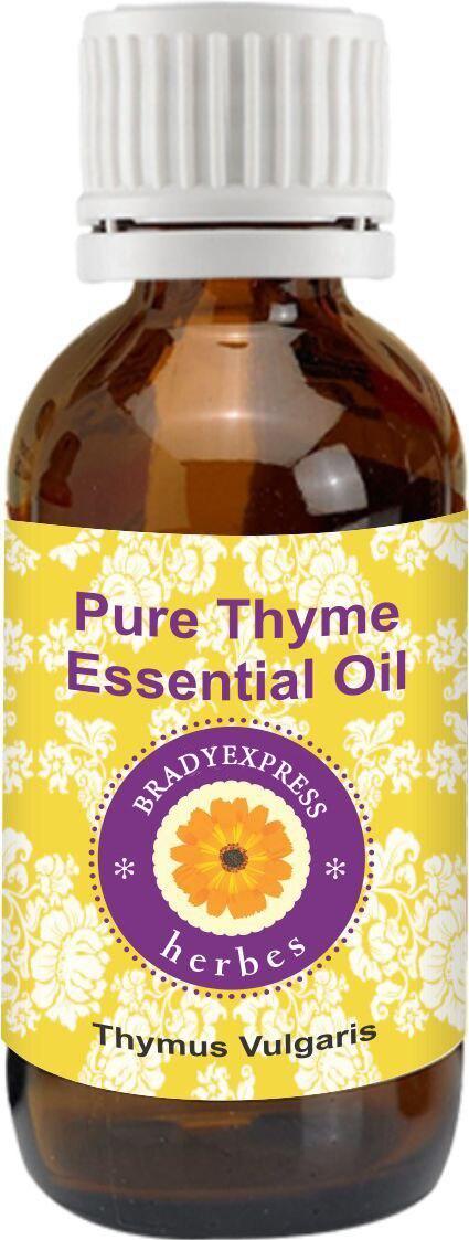 Aceite Esencial de tomillo puro (Thymus vulgaris) 100% terapéutico Natural de 5ML con envío gratis