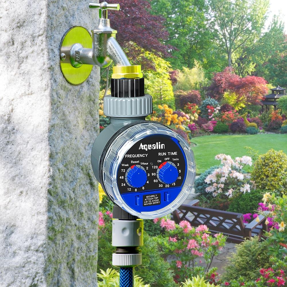 Sodo vandens laikmačio rutulinis vožtuvas automatinis elektroninis - Sodo reikmenys - Nuotrauka 2