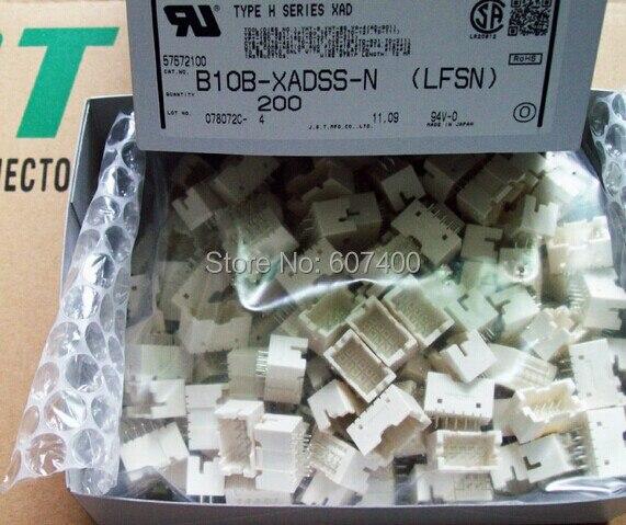 B10B-XADSS-N CONN HDR XAD 10POS 2.5 مللي متر القصدير TE موصلات B10B-XADSS-N(LFSN) 100% جديد و الأصلي أجزاء B10B-XADSS-N(LF)(SN)