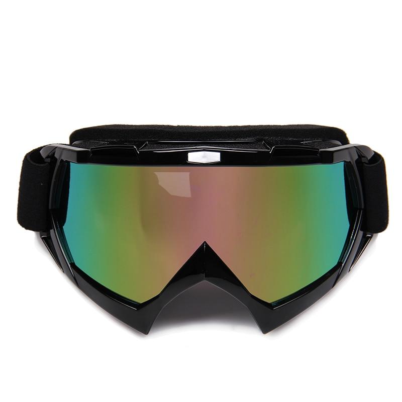 Motorcycle Motocross Off-Road Eyewear Downhill Dirt Bike ATV Glasses Winter Ski Snow Snowboard Snowmobile Goggles hot snowboard off road racing glasses eyewear ski snowmobile atv dh skate goggles single lens clears