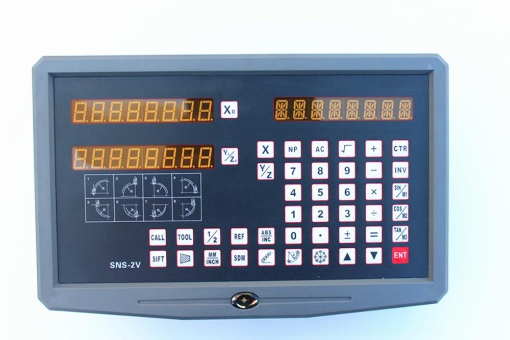 ¡Caliente! Torno/fresado/Taladro/EDM/máquina CNC 110 V-240 V 2 ejes lectura digital DRO y escala lineal/sensor lineal