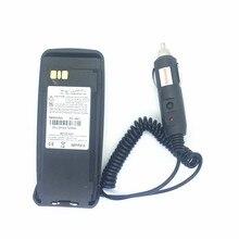 Éliminateur de chargeur de voiture pour motorola xir p8200 p8260 p8268 dp3400 XPR6550 DP3601 etc talkie-walkie entrée DC12V