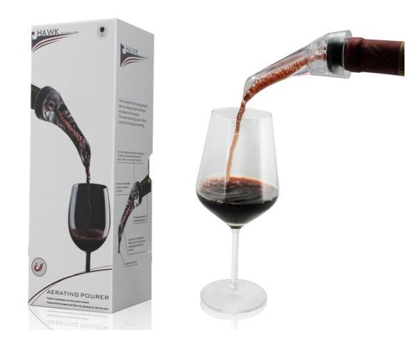 Acessórios de vinho portáteis do pourer do aerador do vinho do pourer do pourer do aerador do vinho do bico 1 pc