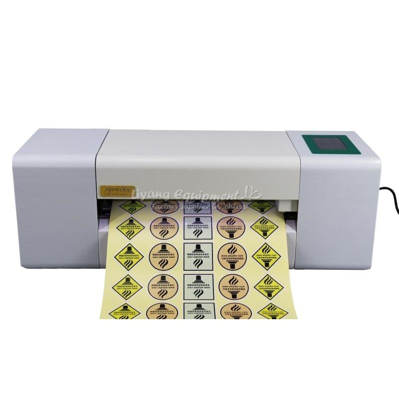 Máquina de troquelado automático digital con control de pantalla táctil, cortadora de pegatinas con alimentación automática de papel