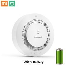 Xiaomi Mijia-détecteur dalarme feu   Dorigine, Honeywell, alarme sonore et visuelle, fonctionne avec Gateway, détecteur de fumée, télécommande pour maison intelligente