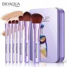 7 pièces/ensemble Pro femmes pinceaux de maquillage du visage ensemble visage cosmétique beauté ombre à paupières fond de teint Blush brosse maquillage brosse outil BIOAQUA