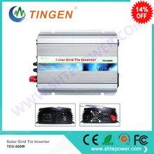 2017 New product!Tie on grid inverter 600w 12v 24v output ac 110v 220v home solar panel with mppt function
