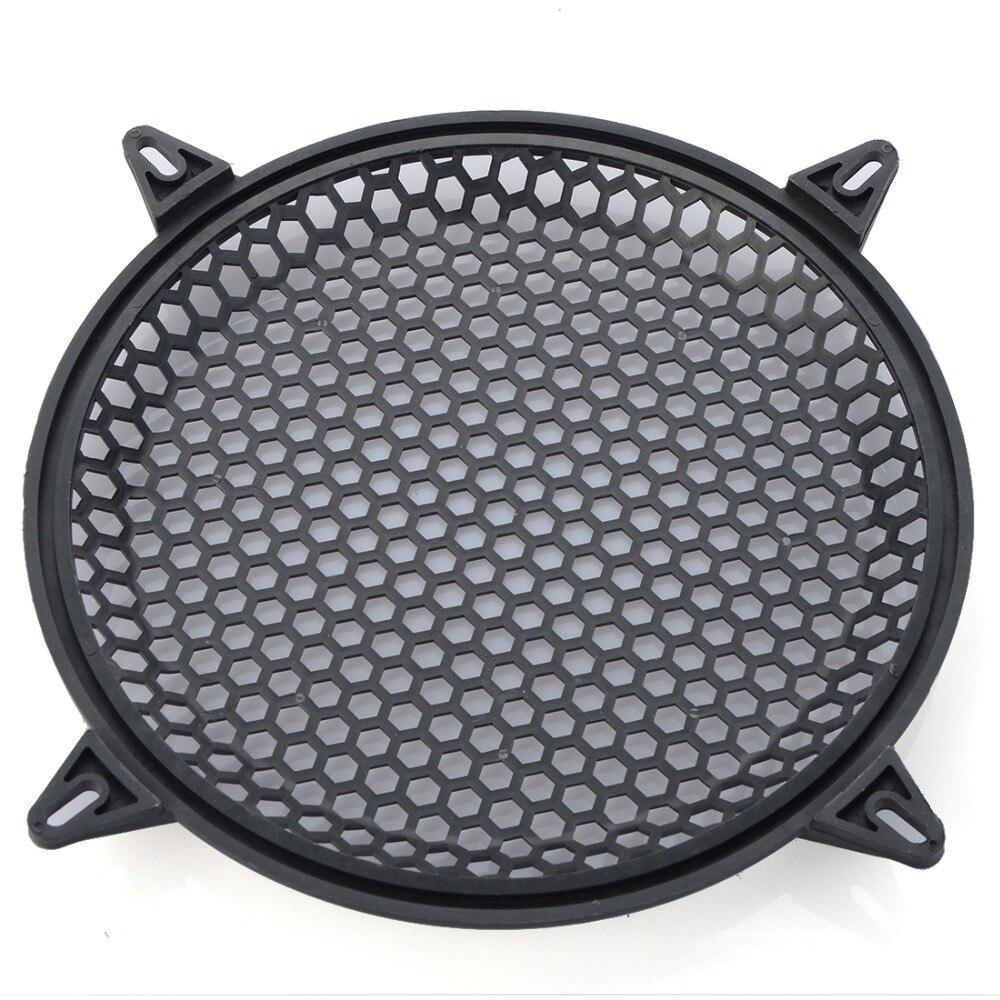 Автомобильный аудио динамик Sub Woofer решетка Защитная крышка 6 дюймов черная металлическая сетка круглый автомобильный сабвуфер крышка динамика