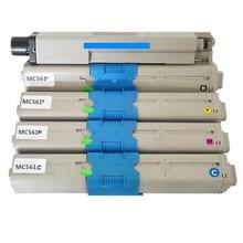 MC562 MC561 toner cartridge for OKI C561 C562 C511dn C510dn C530dn 44973508 44469724