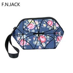 F. n. JACK Mulheres sacos de dobramento simples minibag bolsas pequeno saco geométrica feminino à prova d água saco sacos das senhoras da menina 2019