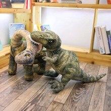 Simulation dinosaure en peluche jouet réaliste tremblement de terre dragon tyrannosaure Rex poupées doux animaux en peluche enfants garçons cadeau danniversaire