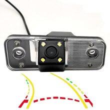 Caméra de vue arrière de voiture   Pistes dynamiques intelligentes, pour Hyundai Azera SantaFe Santa Fe IX45 Grandeur 2007 2008 2009-2012