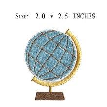 Pièce brodée de Globe 2.0