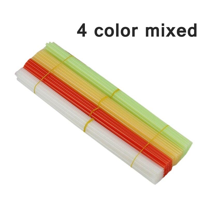 100 قطعة/الوحدة الأحمر الأخضر الأصفر مختلطة اللون النايلون PA ملزمة التثبيت أنبوب 4.8x300 مللي متر reviting ملزم آلة الموردين بالجملة