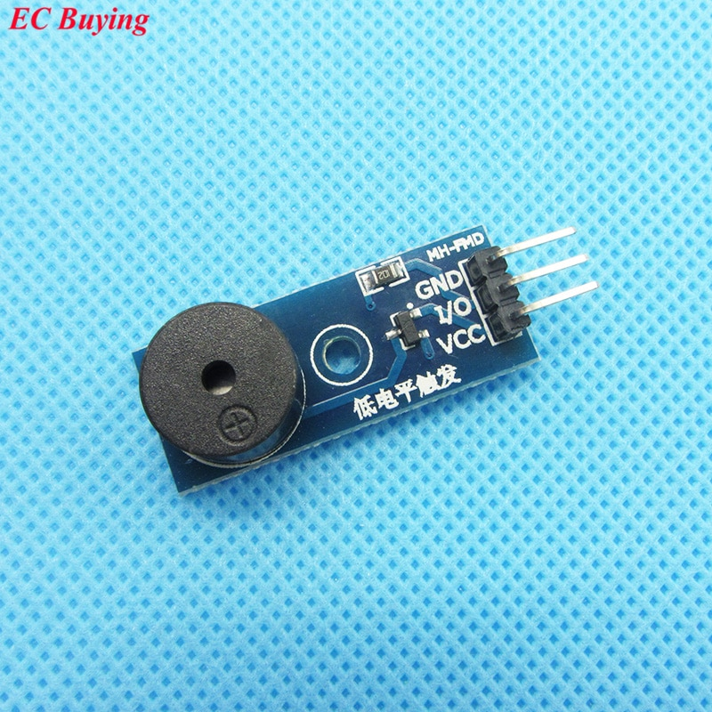 10 pçs módulo buzzer passivo para arduino nova chegada diy kit sem fonte de choque