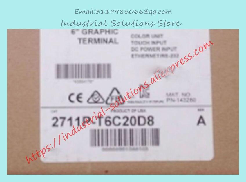 Nueva pantalla táctil de Control Industrial 2711P-T6C20D8 2711P T6C20D8