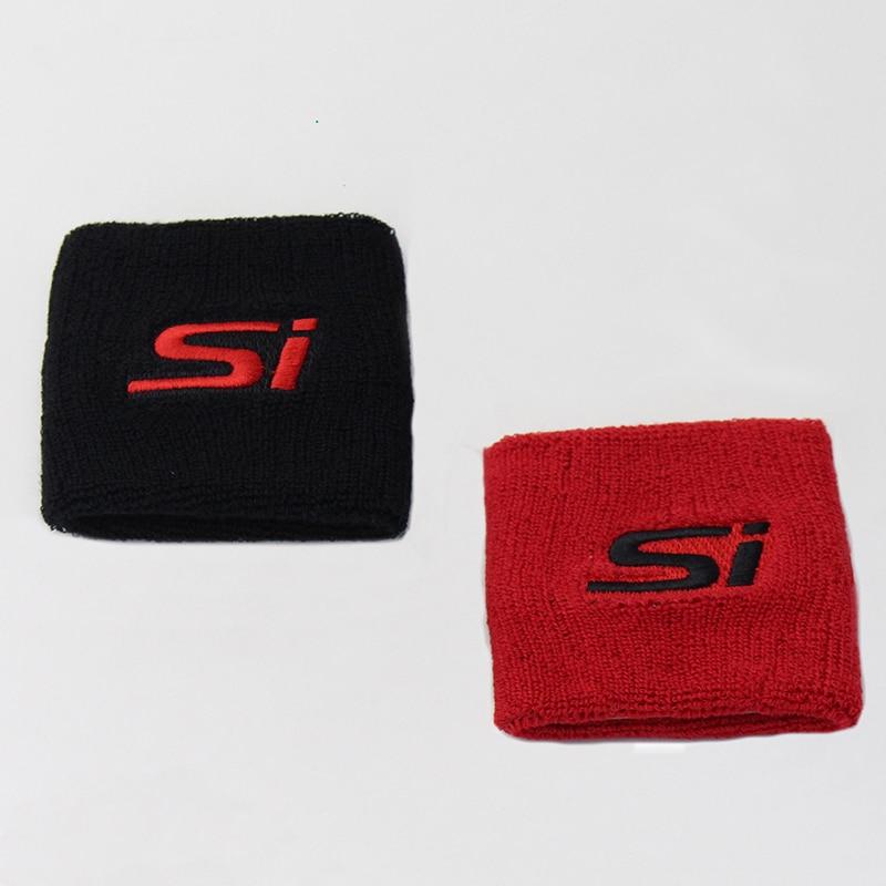 Rot Schwarz Reservoir Bremse Kupplung Öl Tank Abdeckung Kappe Socke Für Honda Civic CRX SI