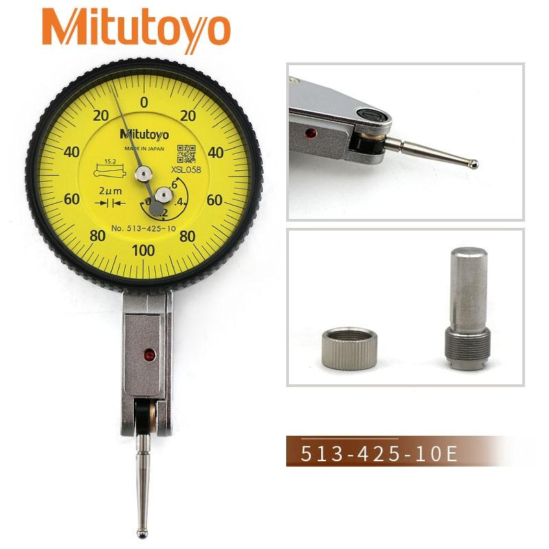 ميتوتويو 513-425-10E TI-152EX قياس المدى 0.6 مللي متر/0.002 0-100-0 رافعة مؤشر اليابان صنع مؤشرات الطلب