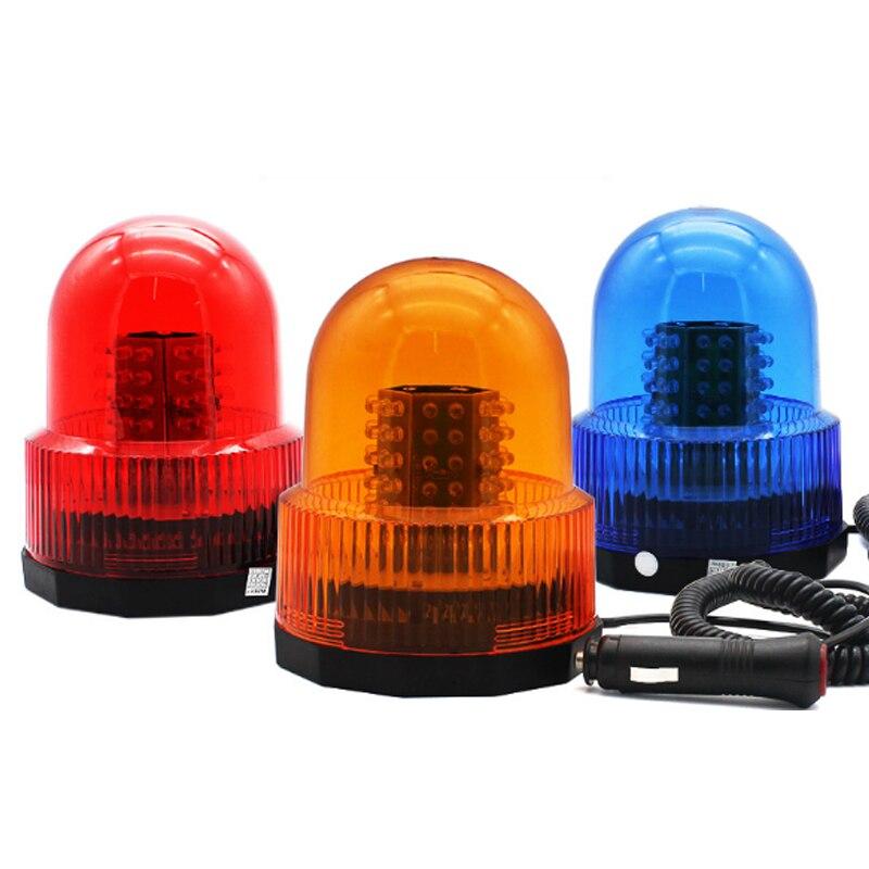 Car vehicle rotating warning flash light strobe magnetic roof light beacon flash emergency indicator
