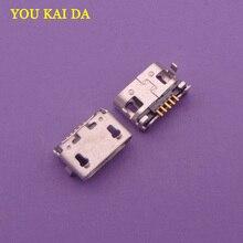 Connecteur de chargement Micro USB 10 pièces/lot   Pour Lenovo, gamme A7600 A7600H A788T S930 A656 A370 S390 A388T,