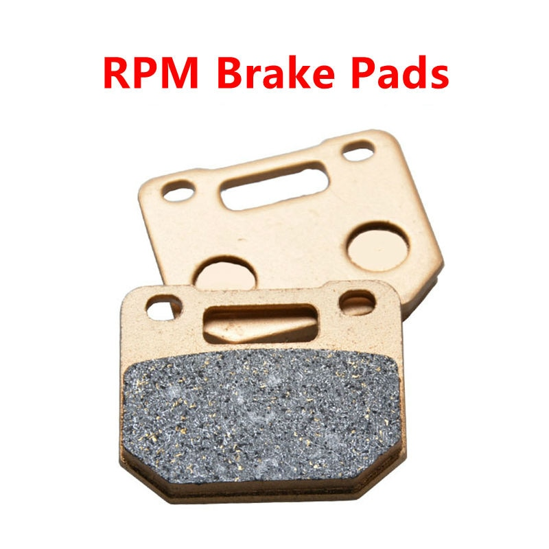 Motorcycle Spare Parts Brake Pads Set RPM HF Scooter High performance Brake Caliper ATV Moped Spare Parts