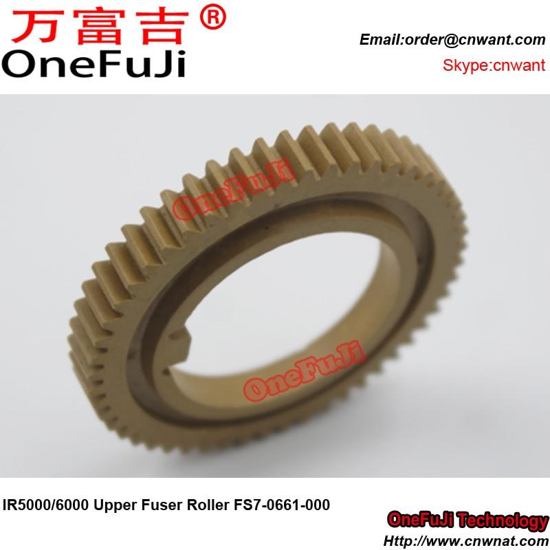 Engranaje de rodillo del fusor superior de FS7-0661-000 de alta calidad de Japón 52T para Canon IR 5000 6000 6020 IR5000 IR6000 IR5020 IR6020 piezas de la copiadora