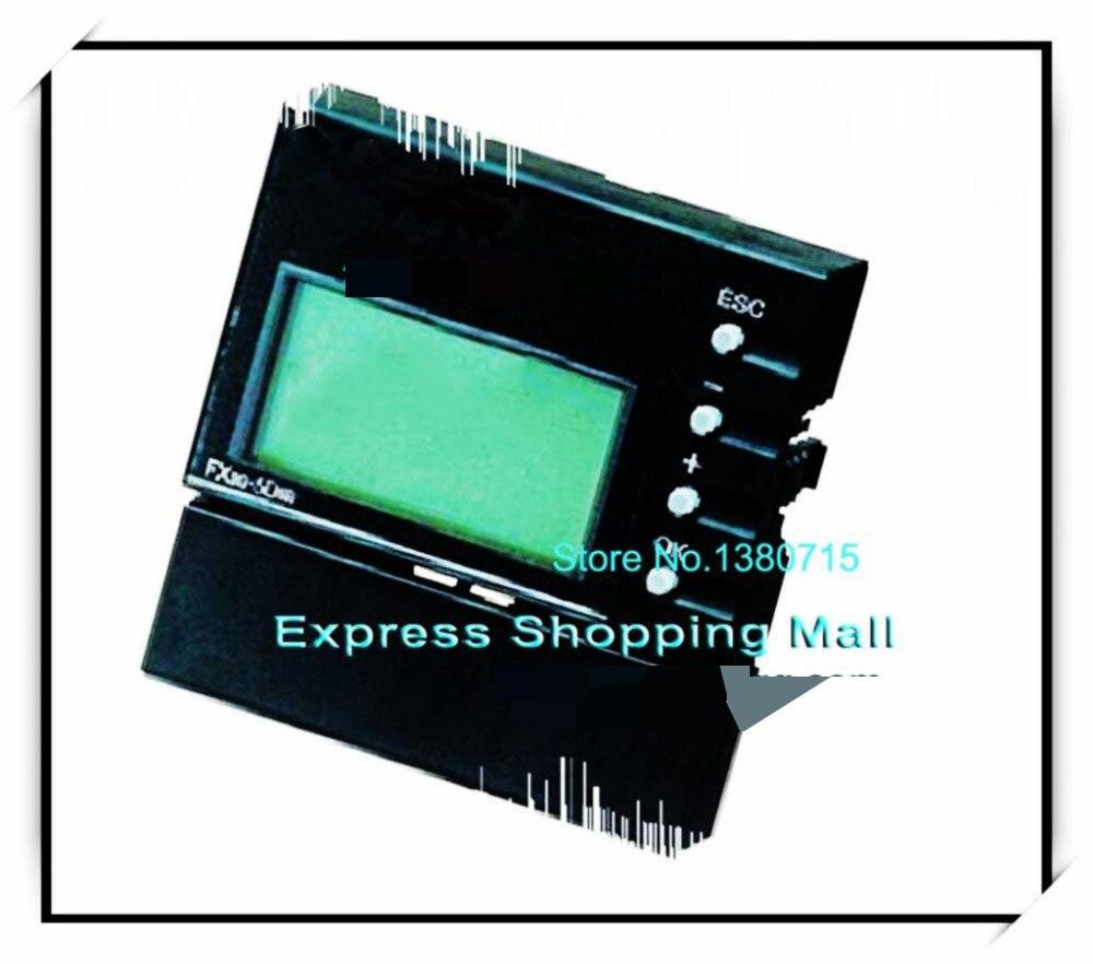 جديد الأصلي FX3G-5DM PLC عرض وحدة