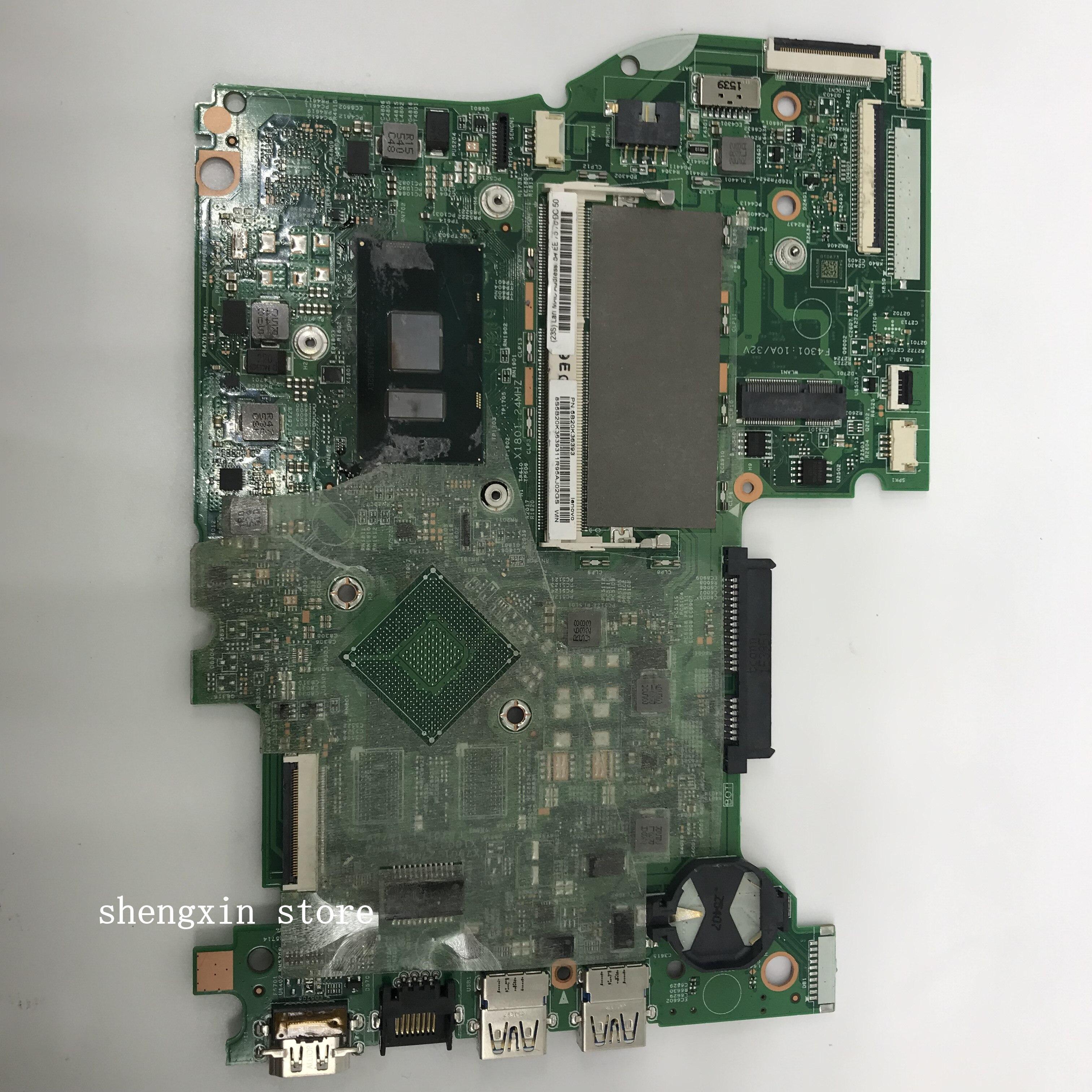 لينوفو اليوغا 500-14ISK FLEX3-1480 اللوحة المحمول مع SR2EY i5-6200U 5B20K36393 MB اللوحة