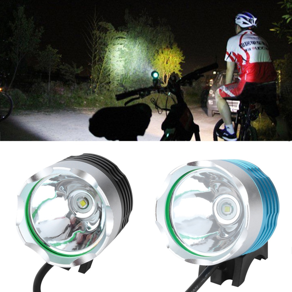 À prova d água 2000 Lumen XM-L T6 Waterpoof LED Bicicleta Farol Lâmpada Para Bicicleta Ciclismo Bicicleta da Frente da bicicleta Luz Lanterna Tocha