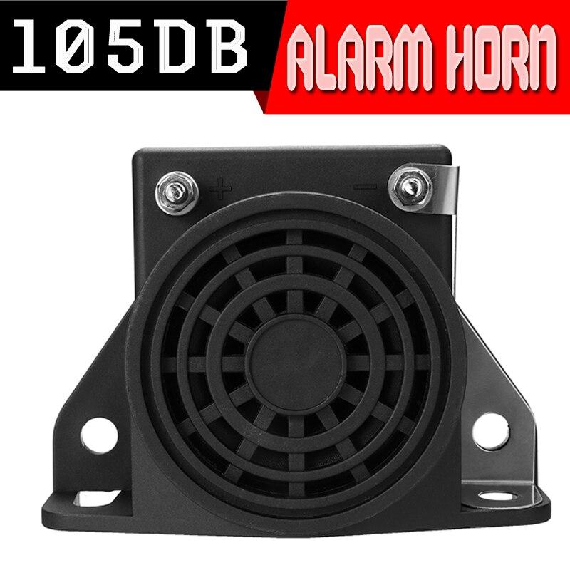 Reversing alarms trumpets drops Backup Alarm 12-60V Car Reversing Horn 105DB Loud 8 Ohm Universal for Cars