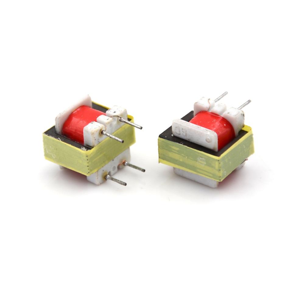 1Pc Transformador De Audio EI14 Trafos 1300 8 Ohm Transformateur De Audio ohmios Transformador De transformación para KIT De bricolaje