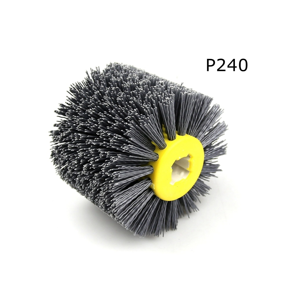 1 stks 120 * 100 * 19 mm nylon schurende draad drum polijstschijf - Schurende gereedschappen - Foto 5