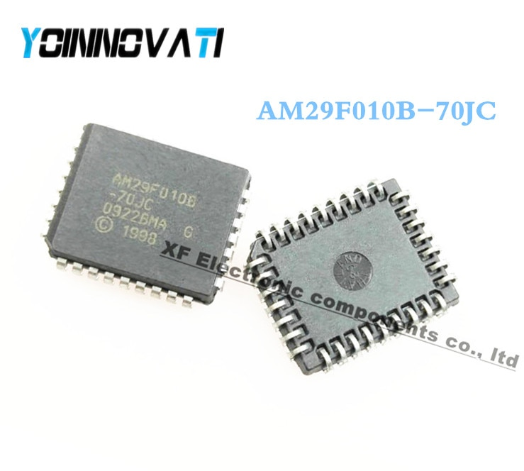 50 unids/lote AM29F010B-70JC AM29F010B AM29F010 29F010 PLCC32 mejor calidad