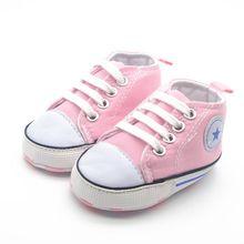 Летняя Детская парусиновая обувь, обувь для новорожденных из хлопчатобумажной ткани с мягкой подошвой, обувь для мальчиков и девочек, 6 цветов