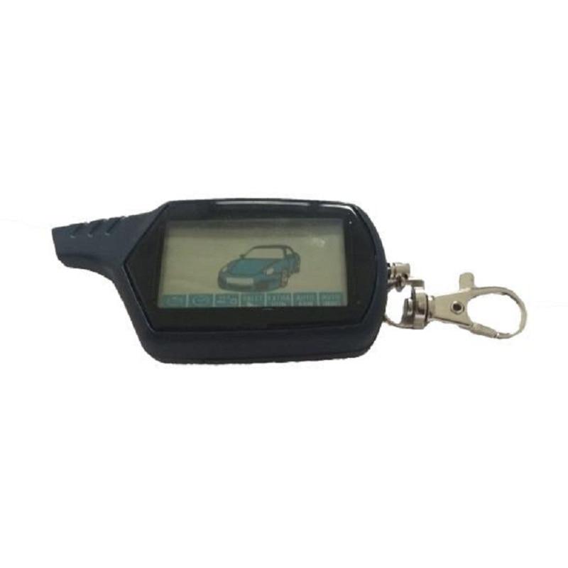 B9 Keychain For Starline B9 Twage KGB FX-7 FX7 LCD Remote Two Way Car Alarm System Car Accessories